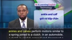 Anh ngữ đặc biệt: Motor-Free Device Reduces Stress from Walking (VOA)