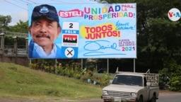 De obtener una nueva reelección, Daniel Ortega cumpliría 20 años consecutivos en el poder en Nicaragua. Foto Houston Castillo, VOA.