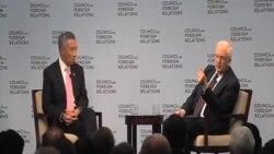 李顯龍呼籲中國在領土爭端上遵守國際法