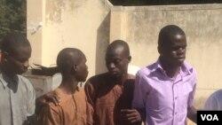 Wasu masu fama da matsalar makanta a Maiduguri, jihar Borno. Disamba 3 2017. Haruna Dauda Biu