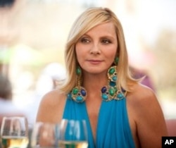 """KIM CATTRALL as Samantha Jones in New Line Cinema's comedy """"SEX AND THE CITY 2,"""" a Warner Bros. Pictures release."""