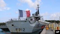 Французский фрегат «Курбе»