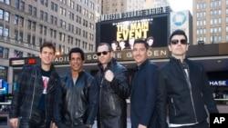"""""""New Kids on the Block"""" realizaron la conferencia de prensa de su nueva gira en el Madison Square Garden."""