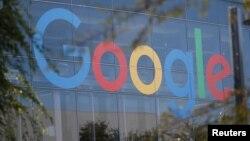 加利福尼亚州谷歌总部的标志。(2018年11月1日)