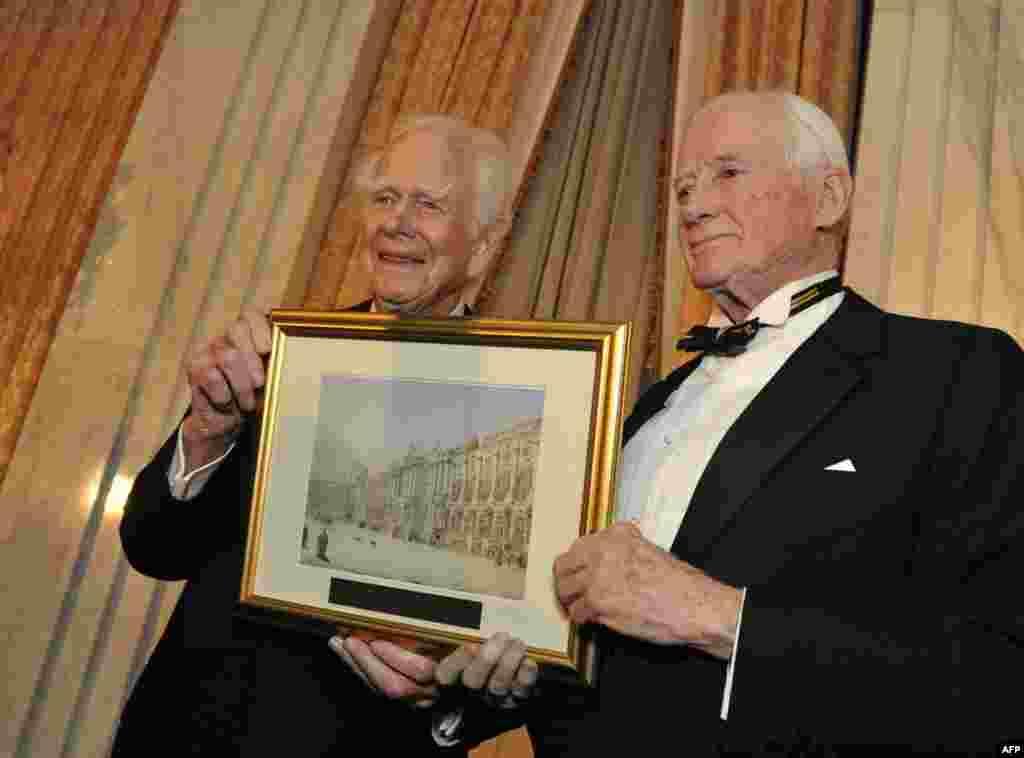 Дональд Кендалл и Джеймс Саймингтон – отцы-основатели Фонда американо-российского культурного сотрудничества