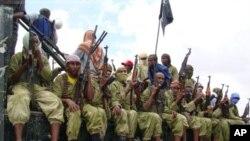 索马里激进组织的战士
