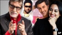 رنبیر، امیتابھ، ابھیشیک اور سوناکشی سنہا کی فلمی دنیا