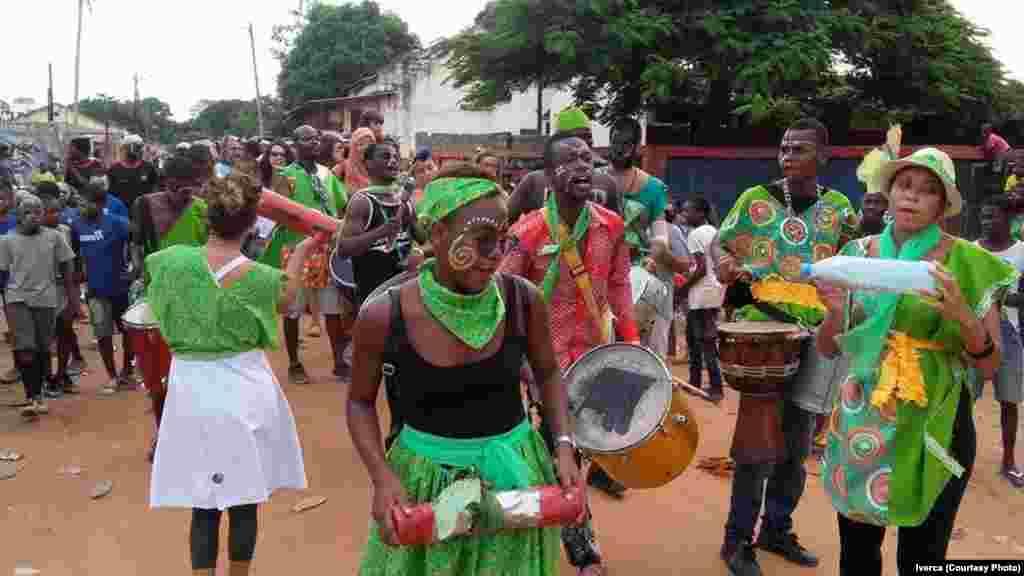 Carnaval da Mafalala, Maputo. Moçambique. Fev. 2017
