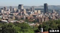 南非首都比勒陀利亚城市天际线 (维基共享)