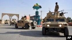 نیروهای امنیتی در غزنی (عکس از آرشیف)