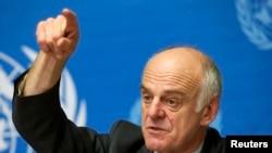 Au forum de Davos, le Dr. David Nabarro a lancé un nouvel appel de fonds pour juguler le virus à Ebola (Reuters)