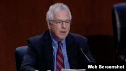 Michael Murphy tokom saslušanja u Senatu, 5. oktobar 2021.