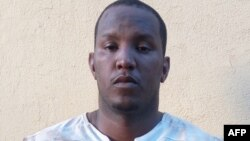 An image obtained by AFP on April 21, 2016 in Bamako shows Fawaz Ould Ahmedia from Mauritania, suspected of planning and carrying out a string of deadly attacks on sites popular with foreigners in Mali in 2015, after his arrest on the same day in a south-