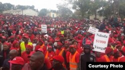 MDC-T Mutare Protest