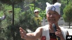 中国农民唱红歌