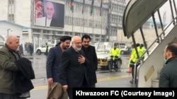 阿富汗談判團隊前往多哈。(2021年1月5日)