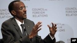 Le président rwandais Paul Kagame à New York, le 7 juin 2011
