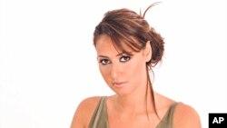 Egyptian actress Hala Shiha in June 2004. (AP Photo/Abdelhamid Eid)