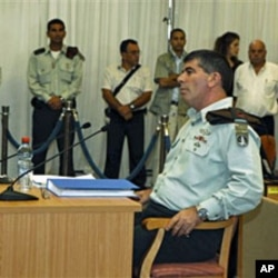 An Aug 2010 file photo of Israel's military chief of staff Lt. Gen. Gabi Ashkenazi before testifying in front of a state-appointed inquiry commission into the naval raid on a Gaza-bound flotilla, Jerusalem, 24 Oct 2010