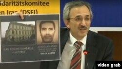 یکی از اعضای سازمان مجاهدین خلق درباره اسدالله اسدی، دیپلمات ایرانی متهم به همدستی در توطئه بمبگذاری پاریس، توضیح می دهد - آرشیو