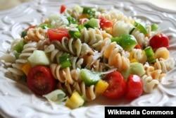Một nghiên cứu mới khẳng định mỳ ống không béo nếu ăn điều độ và cùng với các món chính khác của chế độ ăn Địa Trung Hải.