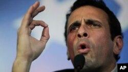 Está previsto que el líder opositor Henrique Capriles se enfrente en las urnas a Nicolás Maduro el 14 de abril.