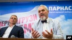 Михаил Касьянов и Андрей Зубов