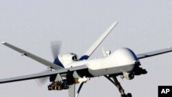 A US 'Predator' drone (file photo)