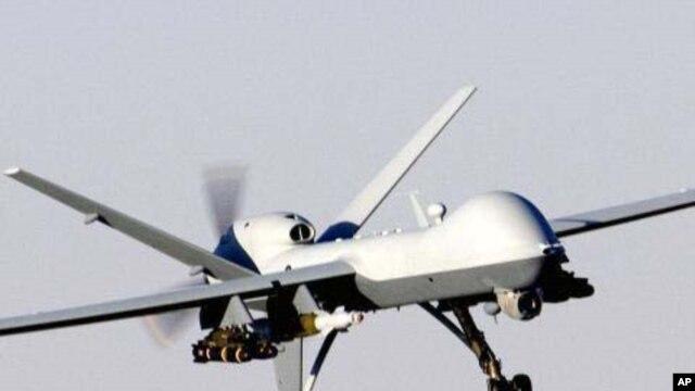 A US 'Predator' drone (file photo)