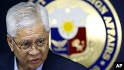 菲律賓外長羅薩里奧