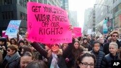 Marcha en Washington DC superó todas las expectativas, con más de medio millón de manifestantes.
