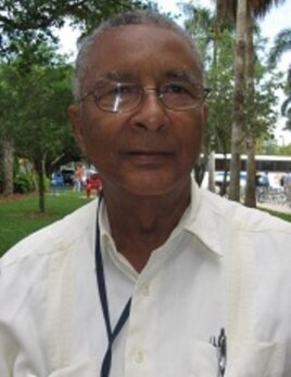 Gerard Dorcely, president of the Universite de Port-au-Prince in Haiti