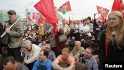 Акции оппозиции в Москве. Архивное фото.