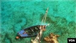 Warga Haiti sering mencoba beremigrasi ke negara lain dengan menggunakan kapal yang rapuh dan tidak aman (foto: dok).
