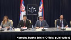 Sa prezentacijie februarskog izveštaja o inflaciji NBS, Foto: Official website