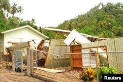 Elsa fırtınasının vurduğu Karayipler'deki ada ülkesi St. Vincent