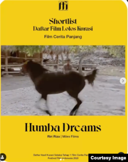 Film Humba Dreams (Courtesy: Instragram FFI).
