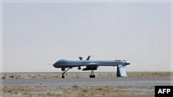 Một loại máy bay không người lái của quân đội Mỹ ở phi trường quân sự Kandahar, Afghanistan (ảnh tư liệu)