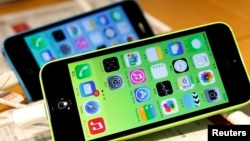 FILE - Apple's battle against the FBI over unlocking an iPhone gained the support of several U.S. technology giants Thursday.