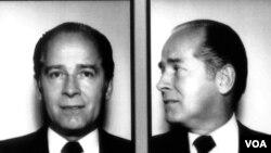 """Imagen de 1984 perteneciente al FBI, del registro de la figura del crimen organizado, James """"Whitey"""" Bulger."""