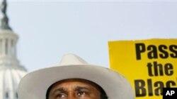 美国黑人农民协会会长约翰·博伊德