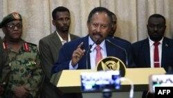 Abdallah Hamdok, Premier ministre par intérim du Soudan , Khartoum, le 21 août 2019.