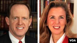 El senador republicano por Pennsylvania Pat Toomey es desfiado por la demócrata Katie McGinty.
