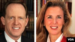 Pennsylvania Senate race: Republican Pat Toomey vs Democrat Katie McGinty