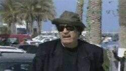 حمله ناتو به مقر قذافی در طرابلس دستکم يک ساختمان را منهدم کرد
