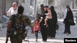 این شهر که در نزدیکی مرز ترکیه قرار دارد، در دو سال گذشته در اختیار داعش بود.