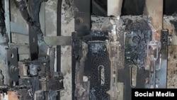 ელექტროქსელის დატვირთვის გამო დამწვარი გამანაწილებელი, გულრიფში