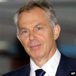 Former British Prime Minister Tony Blair urges religious leaders to get involved in the fight against malaria.