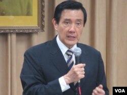 台湾总统马英九(美国之音张永泰拍摄)