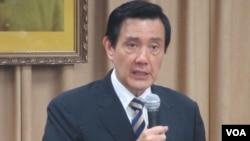 台灣總統馬英九(美國之音張永泰拍攝)
